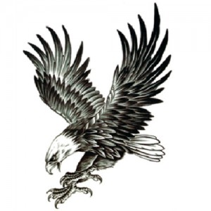 Fake Tattoo Eagle