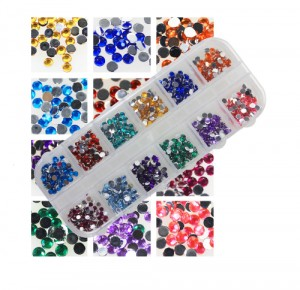 Set Strass Diamand Rond 3mm (600 stuks)
