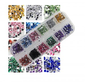 Set Strass Diamand Rond 1.5mm (1800 stuks)