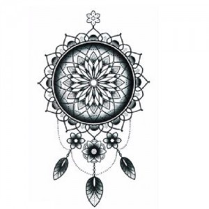 Fake Tattoo Dream Catcher