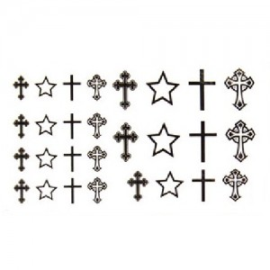 Fake Tattoo Crosses