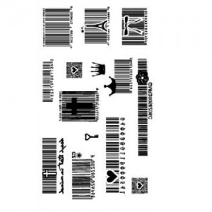 Fake Tattoo Barcodes