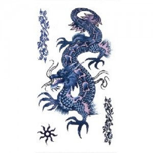 Fake Tattoo Chinese Dragon